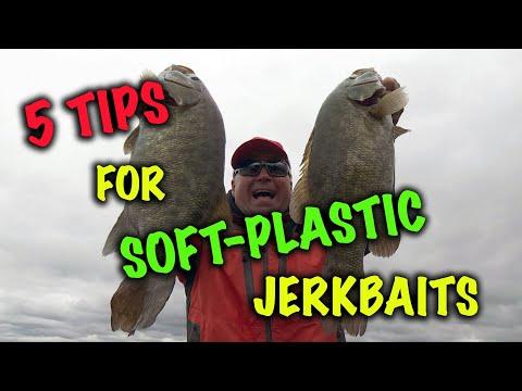 5 Tips for Fishing Soft-Plastic Jerkbaits