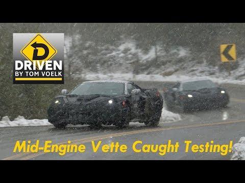 Mid-Engine C8 Chevrolet Corvette Caught Testing in California!