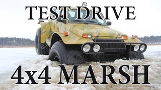 4x4 MARSH | Весенний тест снегоболотохода на базе LADA