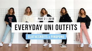 Everyday Uni Outfits Ft. Pinqponq (pt. 2)