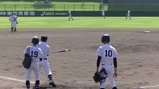 高校野球宝塚東シートノック『2018秋季兵庫県大会・1回戦』