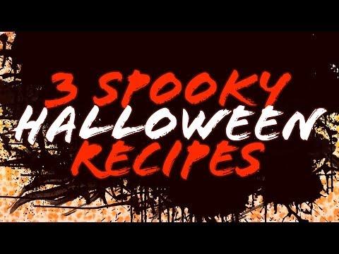 Spooky Halloween Recipes (Gluten-Free Swamp Brownies, Zombie Fingers & Apple Fangs)