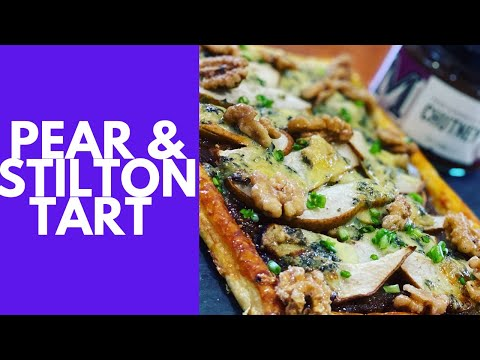 Pear & Stilton Tart