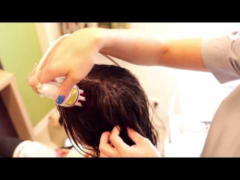 Maska miodu z żółknięcia włosy
