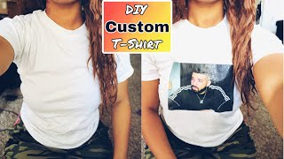 How To Make A Graphic T-shirt At Home