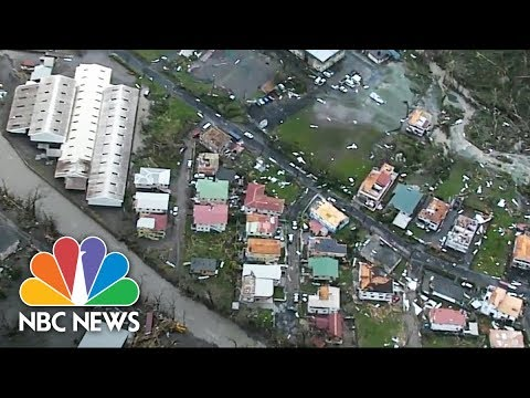 Aerial Footage Of Dominica Captures The Destruction Of Hurricane Maria   NBC News