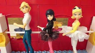 Видео из игрушек Леди Баг и Супер-Кот. Урок танцев