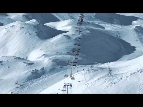 Heliclip: Winter in der Zugspitz Arena Bayern-Tirol - HD