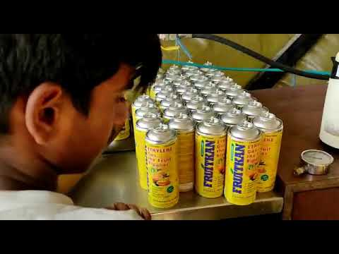 Ethylene Gas / Filling Machine/ Banana Ripening Cans/ Fruit Ripening Can Filling Machine