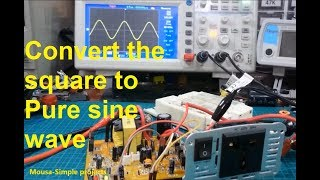 How To Convert A Modified Square Wave Inverter To Pure