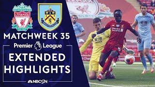 Liverpool v. Burnley | PREMIER LEAGUE HIGHLIGHTS | 7/11/2020 | NBC Sports