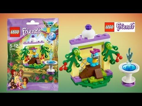 Vidéo LEGO Friends 41044 : Le perroquet et sa fontaine