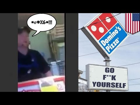 """Watch this Domino's manager get himself fired by telling customer to """"Go F**k"""" herself"""