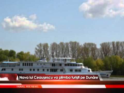 Nava de lux a lui Nicolae Ceauşescu va plimba turişti pe Dunăre – VIDEO