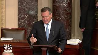 Sen. Cruz Introduces 529 Savings Plan Amendment on Senate Floor - December 1, 2017