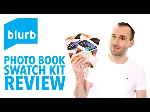 BLURB Photo Book/Trade Book/Magazine Paper Types – Swatch Kit Review