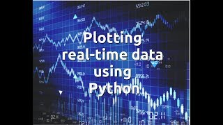 Plotting real-time data using Python