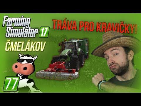 TRÁVA PRO KRAVIČKY! | Farming Simulator 17 #77