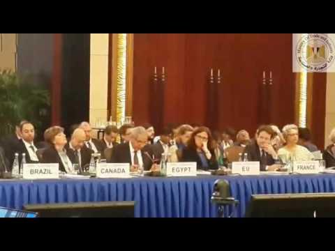 كلمة الوزير/طارق قابيل أمام الاجتماع الوزارى لوزراء تجارة مجموعة العشرين بشنغهاى