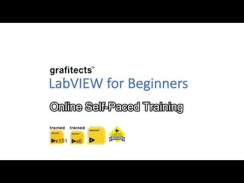LabVIEW for Beginners Self Paced Training - YouTube