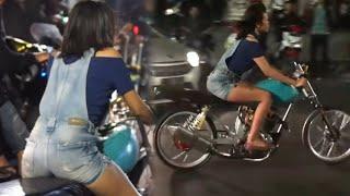 [VIRAL] Geliat Ladies Biker Asal Sidoarjo