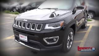 Liberty Auto City's Joe Pepsnik and the 2017 Jeep Compass