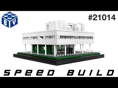 Vidéo LEGO Architecture 21014 : Villa Savoye