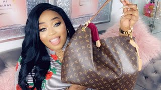 Whats In My Purse?! NEW LV BAG