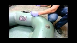 Ремкомплект для ремонта резиновых лодок омега