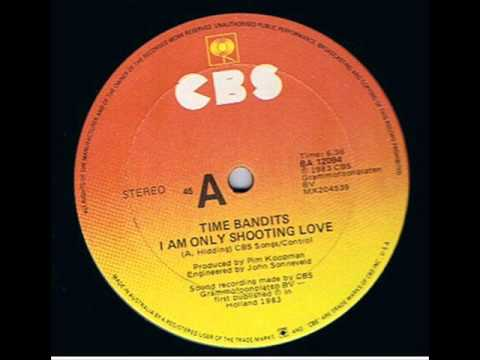 "Dance 12"" - Time Bandits - I Am Only Shooting Love"