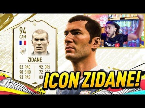 OMG I GOT ICON ZIDANE!! FIFA 20