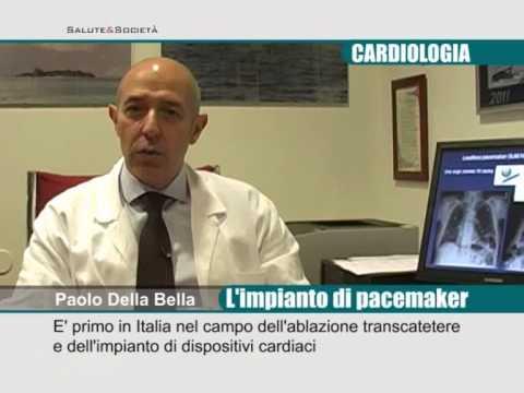 Cardiologia, l'impianto di pacemaker