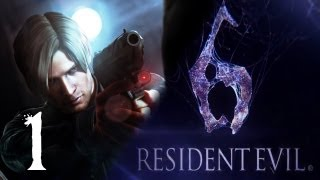 Resident Evil 6 Walkthrough: Leon Kennedy Campaign Gameplay Chapter 1 (Xbox 360/PS3/PC)