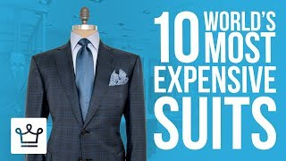 Top 10 Most Expensive Suits In The World