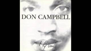 Don Campbell - I Don't Want To Talk About It