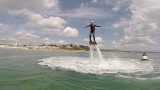 preview picture of video 'Flyboarding, Poole, Dorset'