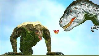 Ark Survival - CRAWLER vs ARK DINOSAURS + BOSS BATTLE [Ep.380]