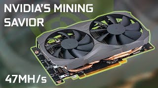 New Dedicated Mining GPU From Nvidia!