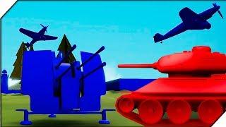 НЕМЕЦКИЕ БОМБЕРЫ АТАКУЮТ. Компания за СССР # 2 - Игра Total Tank Simulator Demo 4 прохождение