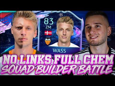 FIFA 20: NO LINK FULL CHEM WASS RTTF SQUAD BUILDER BATTLE VS TABAKO 😍😱