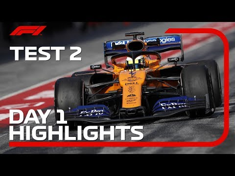 Day 1 Highlights | F1 Testing 2019 Week Two