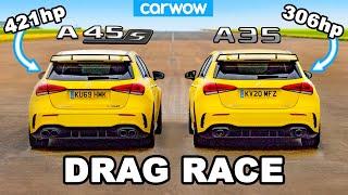 [carwow] AMG A45 S v AMG A35 - DRAG RACE *worth the extra £12K?*