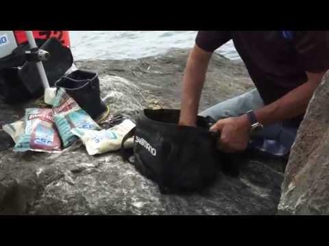 La pesca su una filatura per landroide