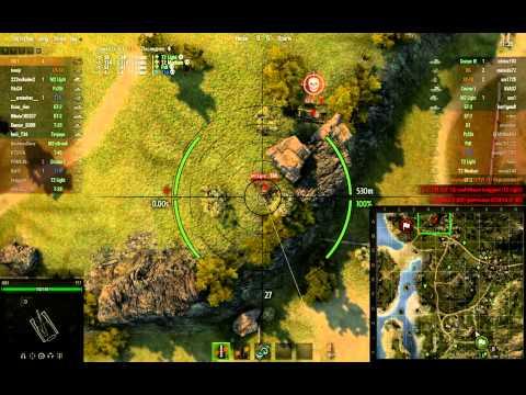 World Of Tanks - i501, T57, Рудники - Хороший бой на арте.mp4
