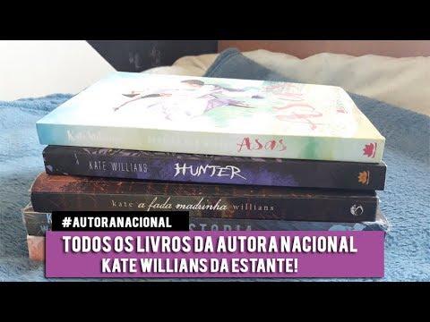 Minha Coleção de livros da Autora Kate Willians  | Rebecca Victória