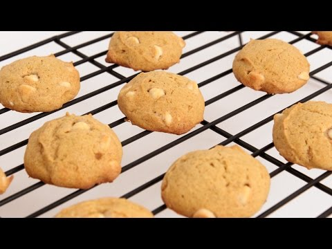 White Chocolate Chip Pumpkin Cookies Recipe – Laura Vitale – Laura in the Kitchen Episode 836