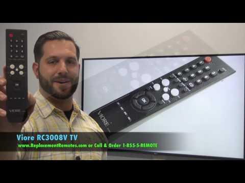 VIORE RC3008V TV Remote Control