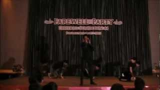 Beast - Fiction (Cover Dance By SD#45) In Farewell Party Cheerio SUNDOWN 44