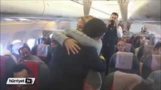Van İstanbul Seferinde Pilottan Evlilik Teklifi