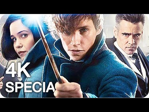 FANASTIC BEASTS AND WHERE TO FIND THEM Film Clips, Featurettes & Trailer (2016)